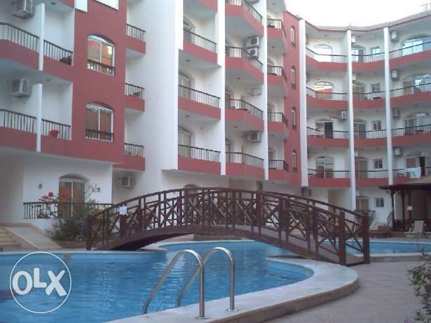 For rent studio in Hurghada. with a swimming pool.
