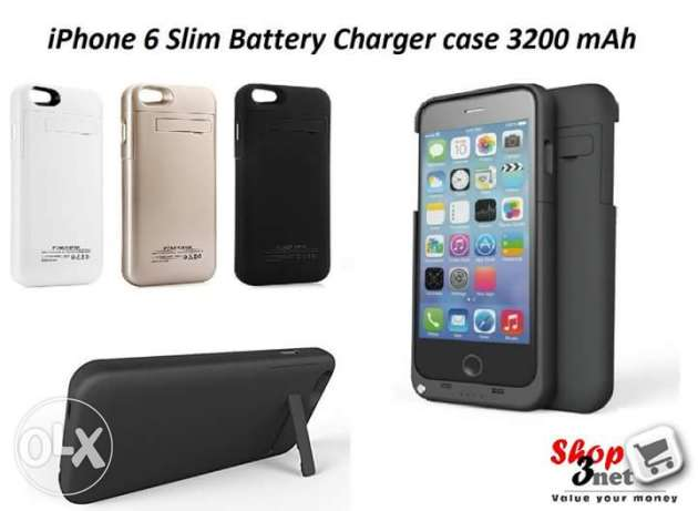 I phone 6 battery charger case 3200 Milli ampere