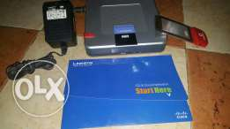 Linksys wireless router for 3G broadband connection