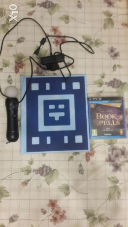 book of spells with the power book+camera+playstation move remote