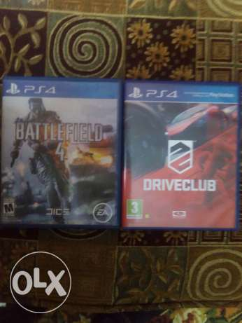 Battlefield4 and drive club for trade with over watch cd