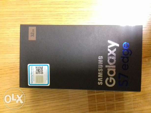 S7 edge gold new sealed