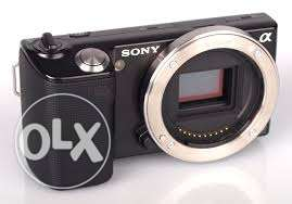 Sony Nex 5 Camera With Sony 16 mm 2.8 Lens, Flash and Charger
