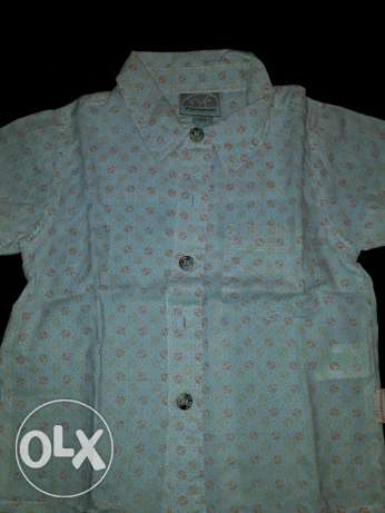 Premaman orange shirt excellent condition from 6 month