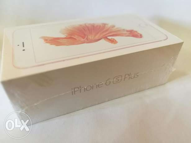 NEW SEALED | iPhone 6s Plus with FaceTime - 64GB, RoseGold | متبرشم
