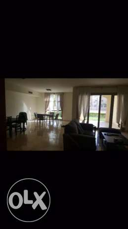 Apartment for rent in uptown Cairo aurora fully furnished 179 sqm