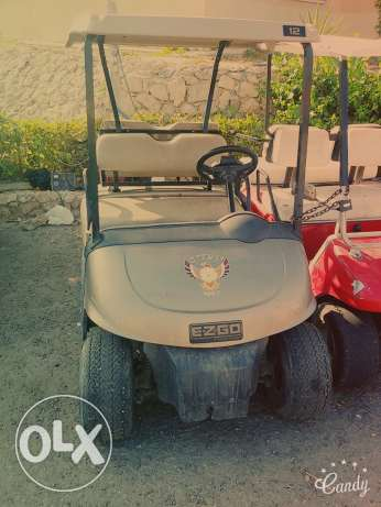 Club car. Golf car cart