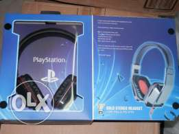 Playstation 4 Gold Stereo Headset سماعة رأس لاجهزة البلاي ستيشن
