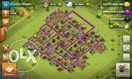 Clash of clans lvl 8 max