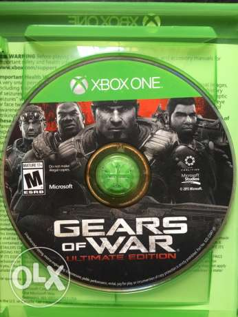 Gears of war ultimate edition .. xbox one game .. للبيع