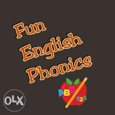 English alphabet & phonetics for children.
