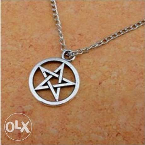 Pentagram Stainless Steel Necklace