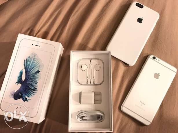 iPhone 6S Plus 128GB Silver (unlocked) القاهرة الجديدة -  1