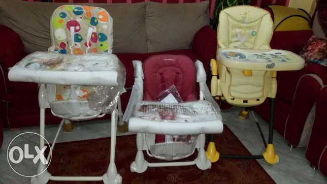 Brand new baby comfort highchair