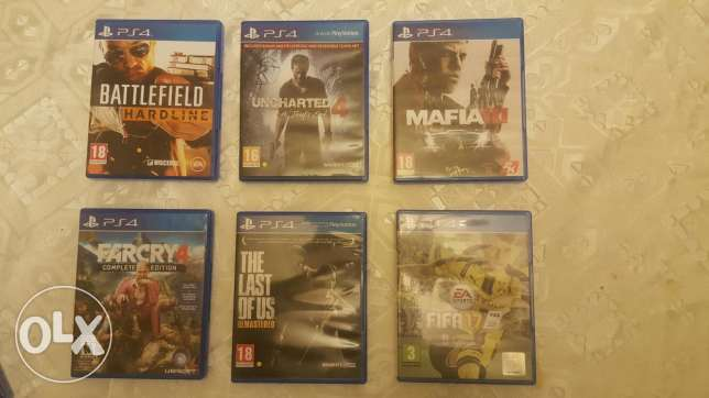 Ps4 Games - Almost New