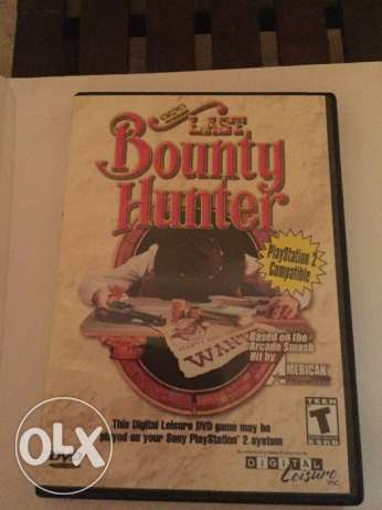 PC and PS2 game - the bounty hunter