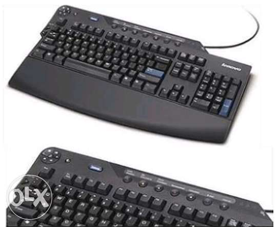 Keyboard lenovo multimedia usb + 2 usb internal