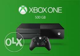 New xbox one 500GB