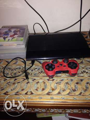 PS3 with controller and 5 games OPEN FOR DETAILS