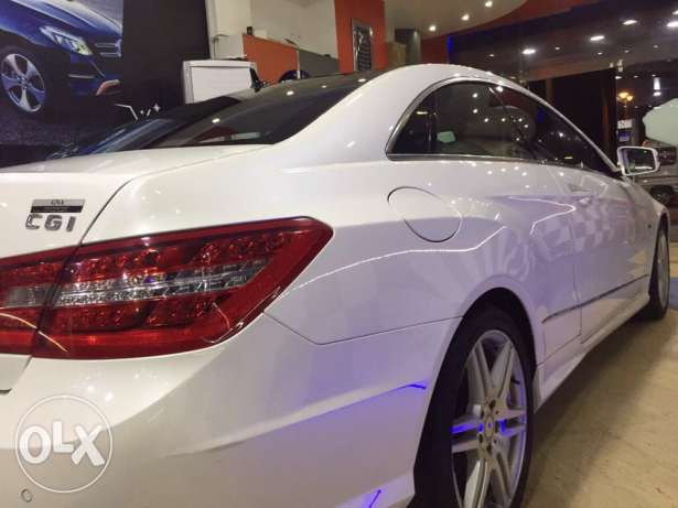 2011 E250 coupe Amg white panorama الإسكندرية -  8