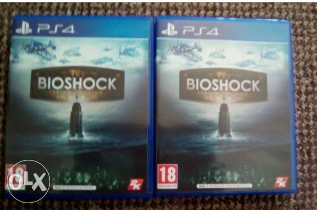 BioShock Collection 3 Games in 2 discs Ps4