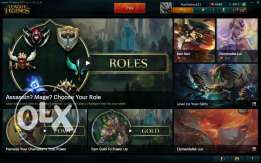 League of legends account with RP