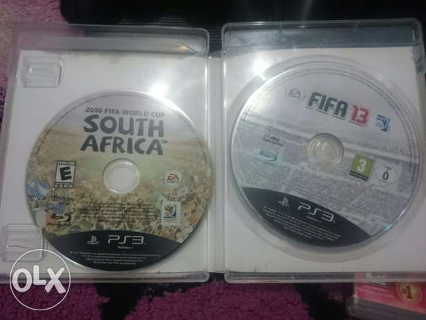 Fifa 10 worldcup + fifa 13 ps3