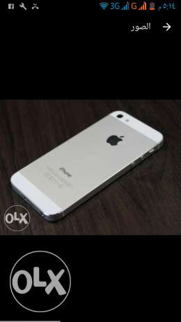 IPHONE5s (like new) ممكن للبدل