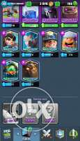 Account clash royale 6 legendary arena 10 name not changed