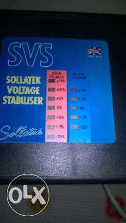 stabilizer 10000 watt,made in england الإسكندرية -  2