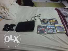 Ps3 with 5 cds (pes 2016 , GTA 4, WWE 13, FIFA13, GRAN TURISMO 2016)