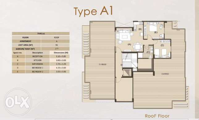 Apartment 177 meters for sale