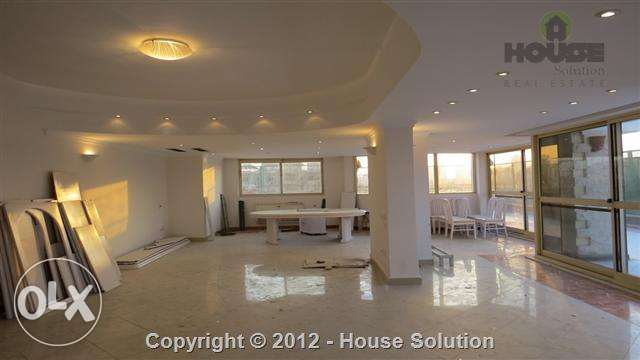 Penthouse Apartment With Private Swimming Pool For Rent In Maadi Saray