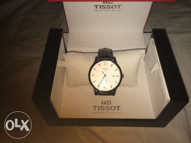 New unused brown leather tissot watch كفر عبدو -  5