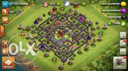 clash of clans town-hall 10