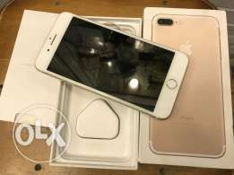 iPhone 7 Plus 128G Gold كالجديد