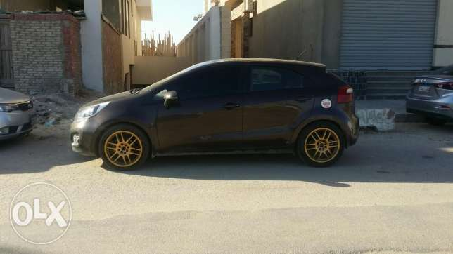 "O.z rims 17"" for sale with 4 tires 215/45 good condition"