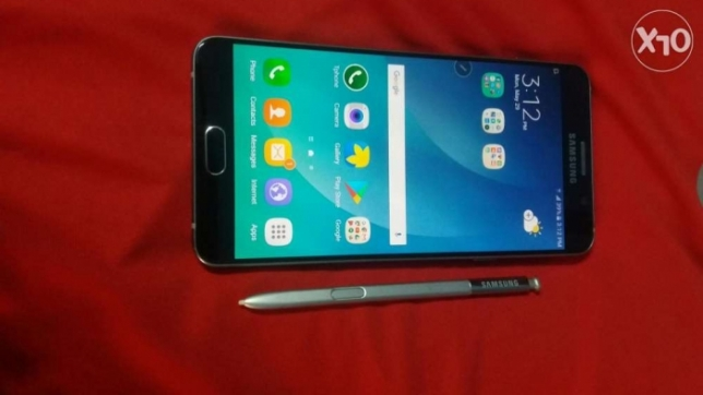 Samsung Note 5 4G 32GB Like New Blue Black