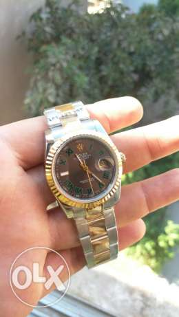 Rolex gray dial -datejust2
