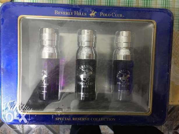 beverly hills polo club set 3*15ml original and sealed