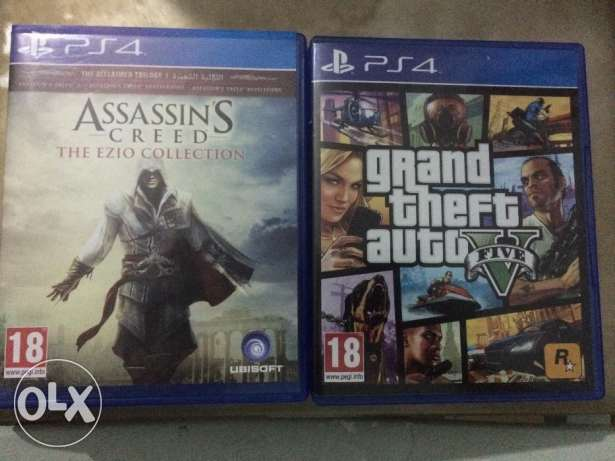 TA V and Assassin's creed: the Ezio collection