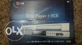 LG V161 DVD Player + VCR new