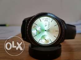 Samsung Gear s2 with leather band