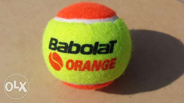 Babolat orange new tennis ball of a discount 70 %