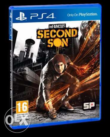 infamous second son almost new