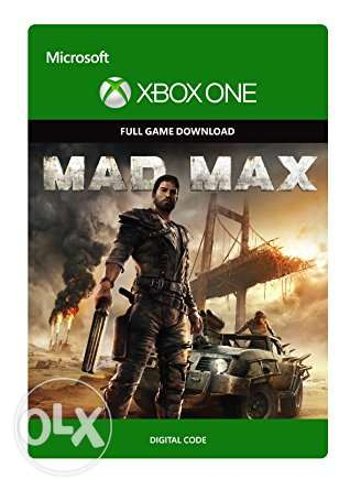 Mad Max Xbox One Digital code