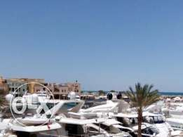 El Gouna. Comfortable apartment with views of marina.