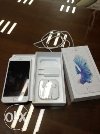 iPhone 6s Plus 64giga silver