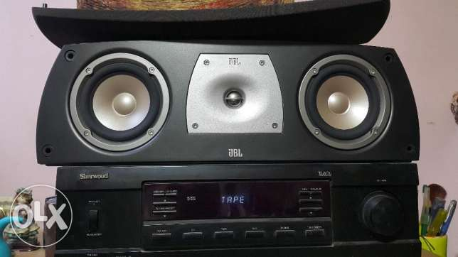 JBL N38 Speakers with N Center for Home theater - سماعات مسرح منزلي وسط القاهرة -  2