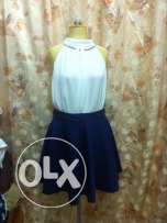 jupe used only jupe 150 with blouse 350